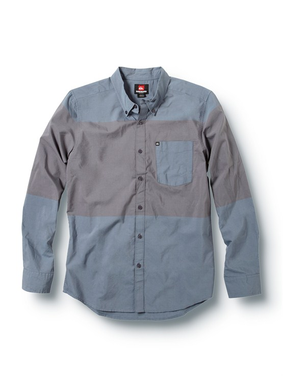 BWLTube Release Long Sleeve Oxford Shirt by Quiksilver - FRT1
