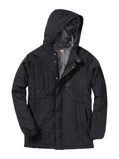 BLKPU Coated Front Zip Sup Jacket by Quiksilver - FRT1