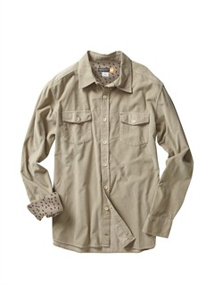 KHAMen s Hazard Cove Long Sleeve Flannel Shirt by Quiksilver - FRT1