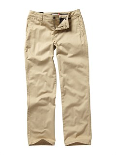 TKA0Boys 8- 6 Union Heather Pants by Quiksilver - FRT1