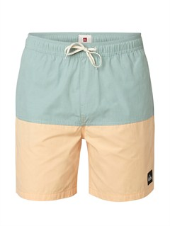 "BHB0Butt Logo  7"" Volley Boardshorts by Quiksilver - FRT1"