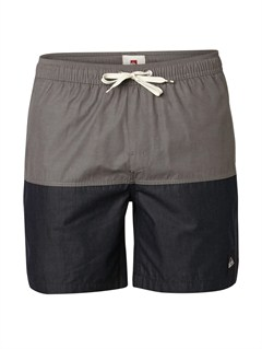 "KTA0Butt Logo  7"" Volley Boardshorts by Quiksilver - FRT1"