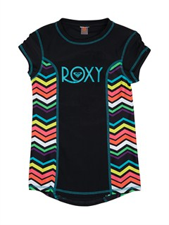 KVJ4Girls 7- 4 Roxy Border Rashguard by Roxy - FRT1