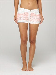 PRLCarnivals Embroidered Shorts by Roxy - FRT1