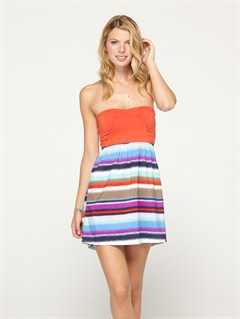 WBS4Sunburst Dress by Roxy - FRT1