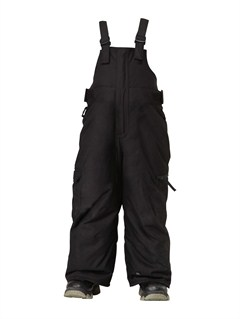 BLKBoogie 5K Insulated Kids Bib Pants by Quiksilver - FRT1