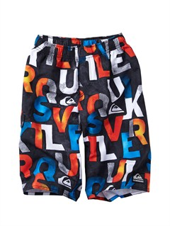 BLKBOYS 8- 6 A LITTLE TUDE BOARDSHORTS by Quiksilver - FRT1