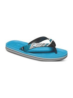 XBKWBoys 8- 6 Foundation Cush Sandals by Quiksilver - FRT1