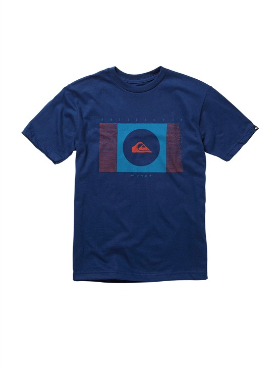 BSA0Boys 8- 6 Mountain And Wave Shirt by Quiksilver - FRT1