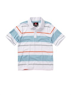 WHTBaby Boston Says Polo Shirt by Quiksilver - FRT1