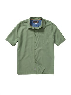 GLK0Men s Deep Water Bay Short Sleeve Shirt by Quiksilver - FRT1