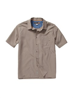 SMB0Men s Baracoa Coast Short Sleeve Shirt by Quiksilver - FRT1