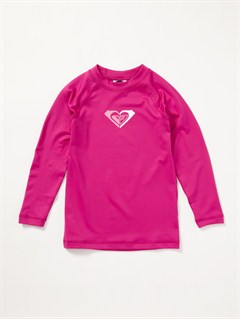 PNKGirls 2-6 Livin Large LS Rashguard by Roxy - FRT1