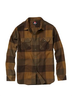 CPJ1Fuzzy Goggles Long Sleeve Flannel Shirt by Quiksilver - FRT1