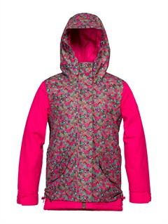 CRB6Girls 7-  4 American Pie Girl Jacket-Printed by Roxy - FRT1