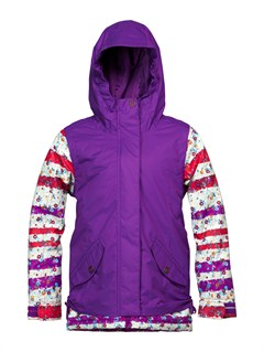 PPV0Girls 7-  4 American Pie Girl Jacket-Printed by Roxy - FRT1