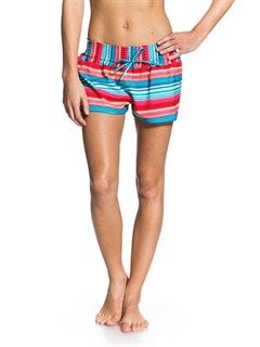 BNV3Smeaton Denim Print Shorts by Roxy - FRT1