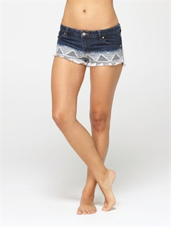 VTGCarnivals Embroidered Shorts by Roxy - FRT1
