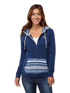 BSW0Beauty Stardust Striped Hoodie by Roxy - FRT1