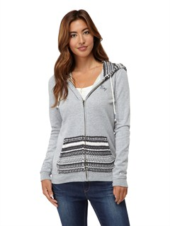 SLR0Glacial 2 Zip Up Hooded Fleece by Roxy - FRT1