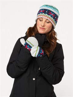 BTK0Girls 7- 4 Snows Up Solid Mitt by Roxy - FRT1