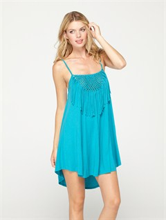 BNY0Strappy Gauze Dress by Roxy - FRT1