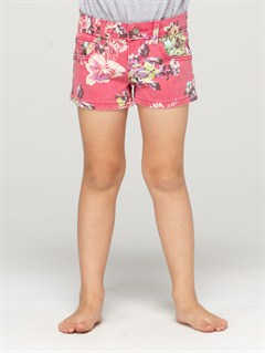 MPB6Girls 2-6 June Bloom Shorts by Roxy - FRT1
