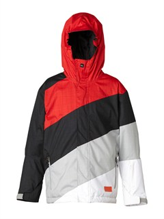 BLKMission  0K Youth Print Jacket by Quiksilver - FRT1