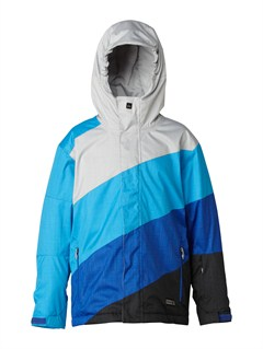 SJE0Mission  0K Youth Print Jacket by Quiksilver - FRT1