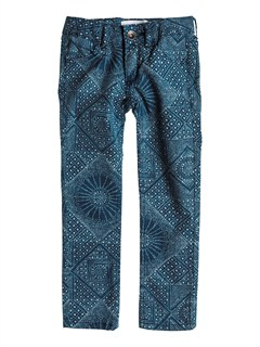 BRQ6Girls 2-6 Emmy Printed Jeans by Roxy - FRT1