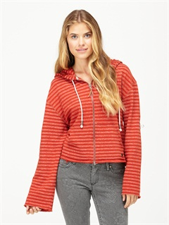 SNTBeauty Stardust Striped Hoodie by Roxy - FRT1
