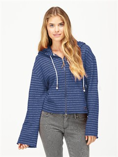 VIDBeauty Stardust Striped Hoodie by Roxy - FRT1