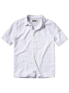 WHTMen s Aganoa Bay Short Sleeve Shirt by Quiksilver - FRT1