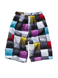 WHTBOYS 8- 6 A LITTLE TUDE BOARDSHORTS by Quiksilver - FRT1