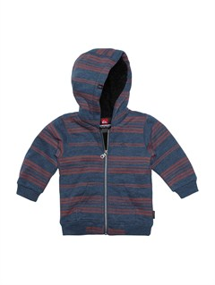 BTK3Baby Solana Checks Hooded Sweater by Quiksilver - FRT1