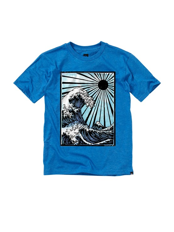 BQCHBoys 2-7 After Hours T-Shirt by Quiksilver - FRT1