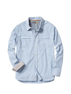 BHC0Men s Hazard Cove Long Sleeve Flannel Shirt by Quiksilver - FRT1