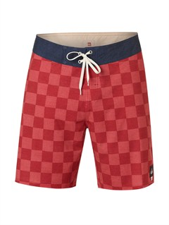 "RPY6Yoke Checker  8"" Boardshorts by Quiksilver - FRT1"