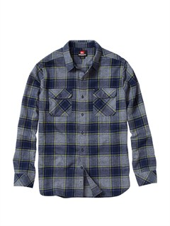BTK1Meet On Long Sleeve Flannel Shirt by Quiksilver - FRT1