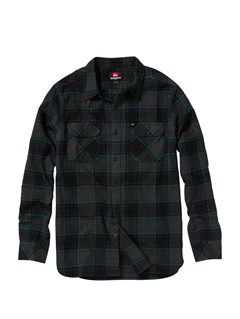 KVJ1Meet On Long Sleeve Flannel Shirt by Quiksilver - FRT1