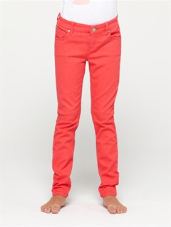 MMN0Girls 7- 4 Skinny Rails 2 Pants by Roxy - FRT1