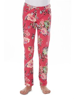 MPB6Girls 7- 4 Emmy Printed Jeans by Roxy - FRT1
