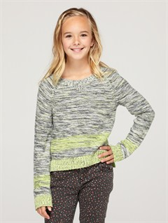 GDT3Girls 7- 4 Believe Printed B Sweater by Roxy - FRT1