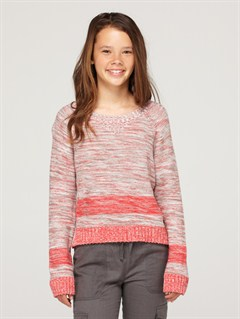 MLR3Girls 7- 4 Dancing Waves Sweater by Roxy - FRT1