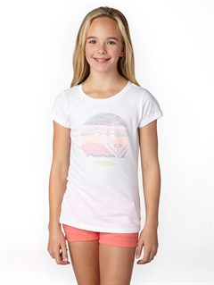 WBB0Girls 7- 4 Anchored Baseball Tee by Roxy - FRT1