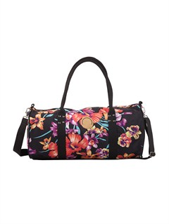 KVJ0Jungle Leaves Wheelie Bag by Roxy - FRT1