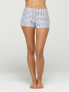 BLDSmeaton Denim Print Shorts by Roxy - FRT1