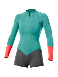 XKMGBooty Cut  mm Short John Wetsuit by Roxy - FRT1