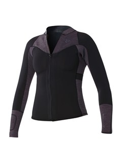 XKKS2mm XY Front Zip Jacket by Roxy - FRT1