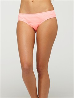 FLOBeach Dreamer Brazilian String Bikini Bottoms by Roxy - FRT1